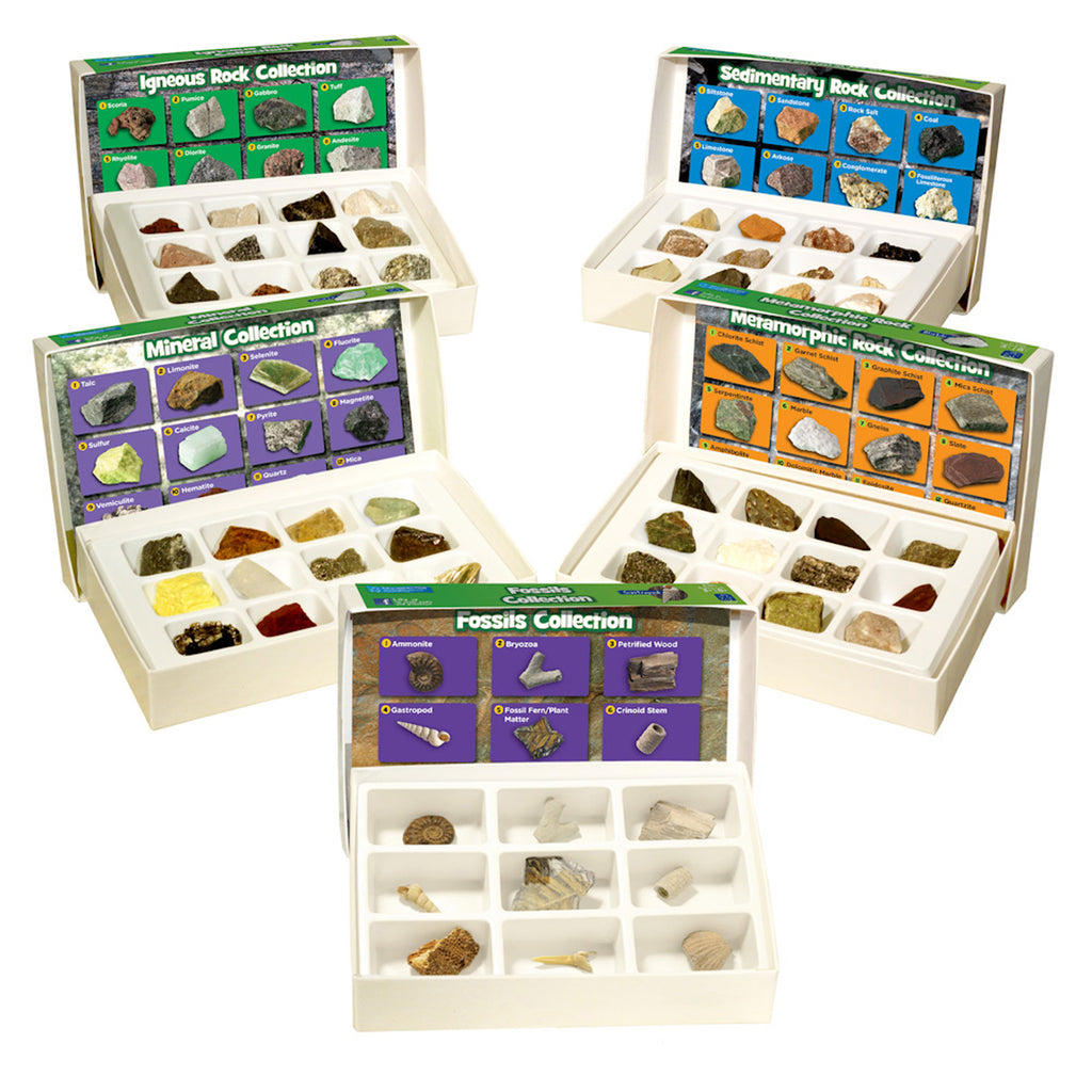 Educational Insights Rocks, Minerals, & Fossils Complete Collection