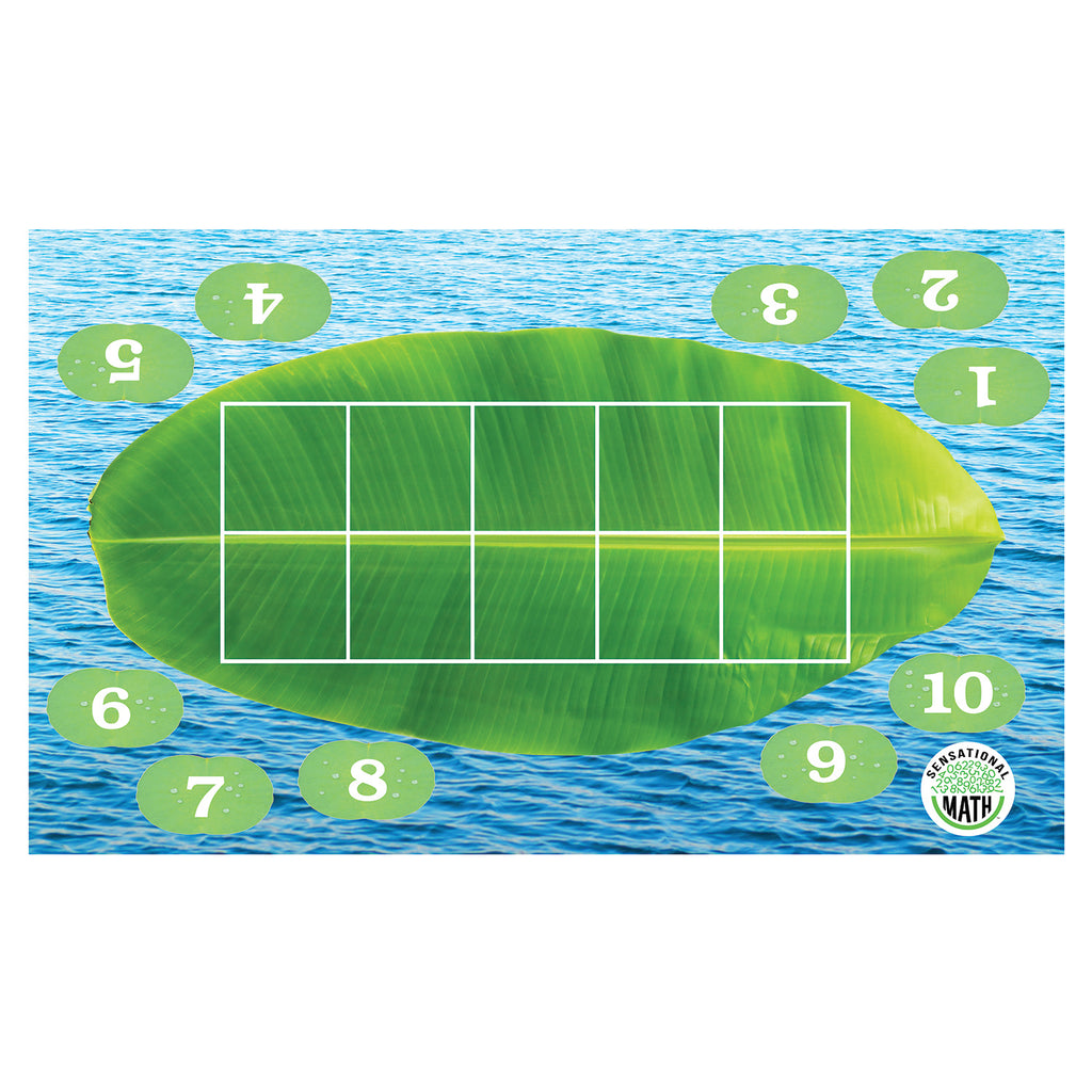 Essential Learning Products Sensational Math™ Froggy Ten-Frame Floor Mat