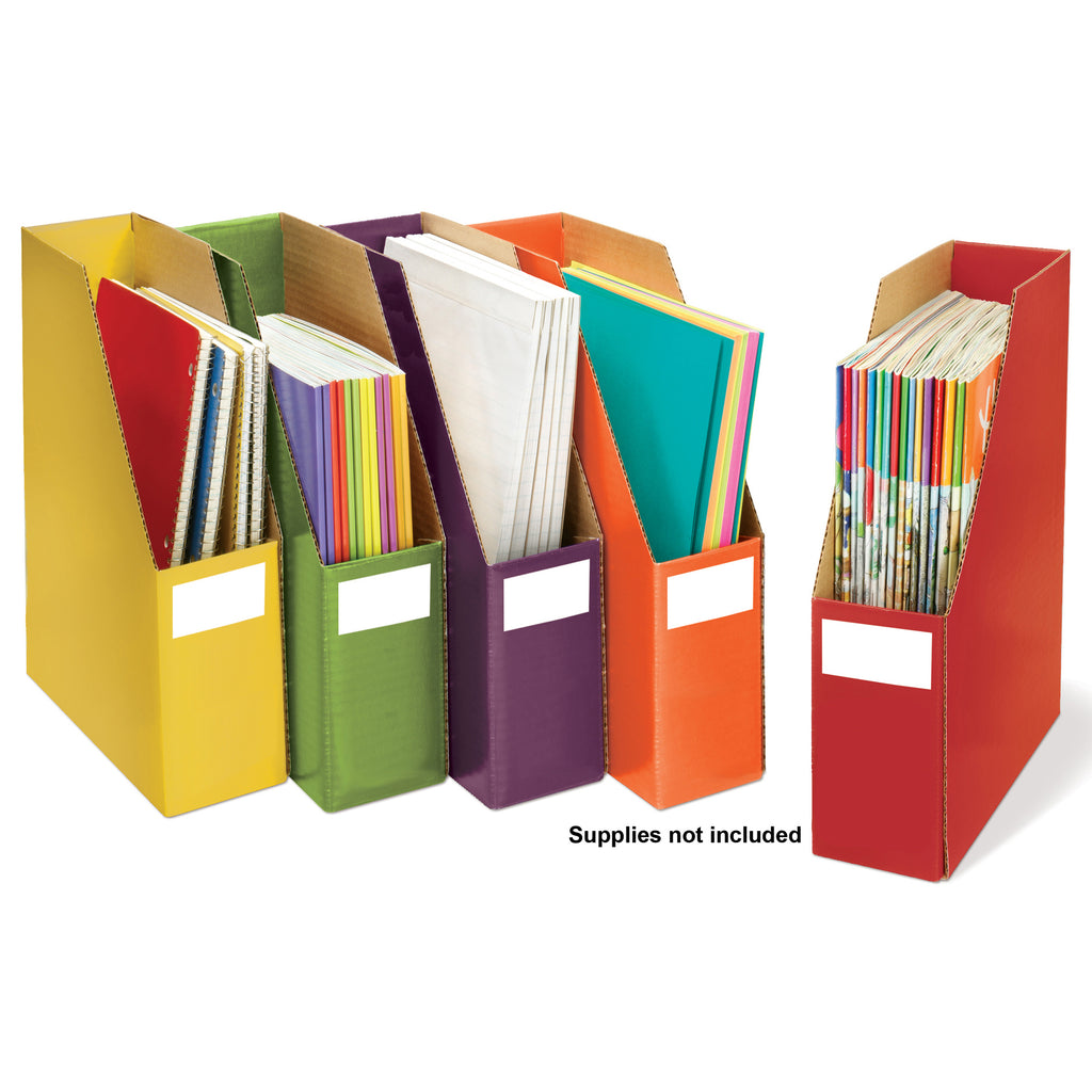 Essential Learning Products Storage Files, Set of 5
