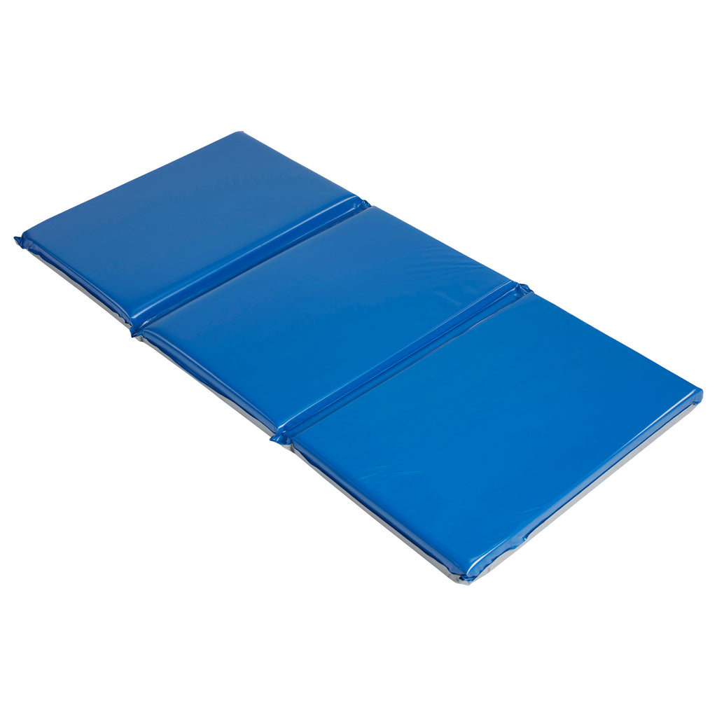 "ECR4Kids Sleepy-Time Everyday Folding Rest Mat, 48""x24""x2"" (5 Count)"