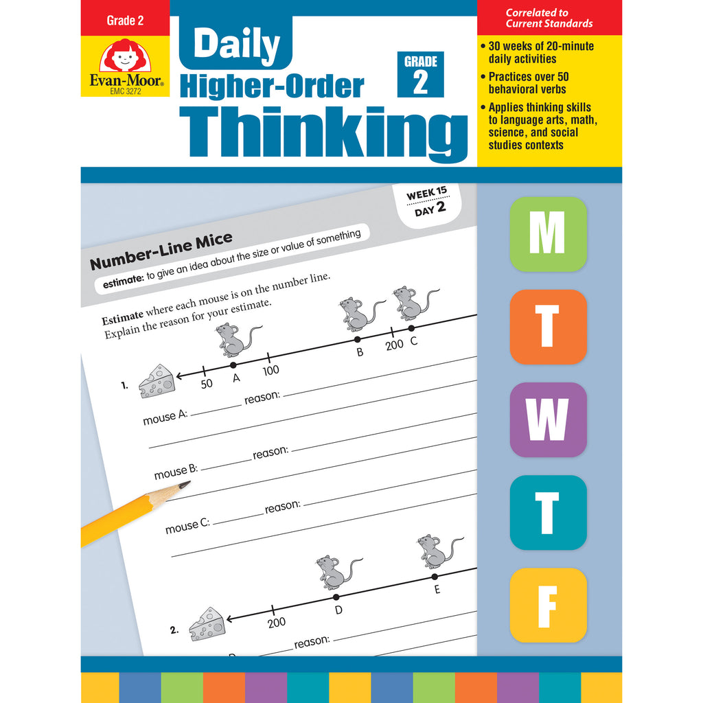 Evan-Moor Daily Higher-Order Thinking, Grade 2