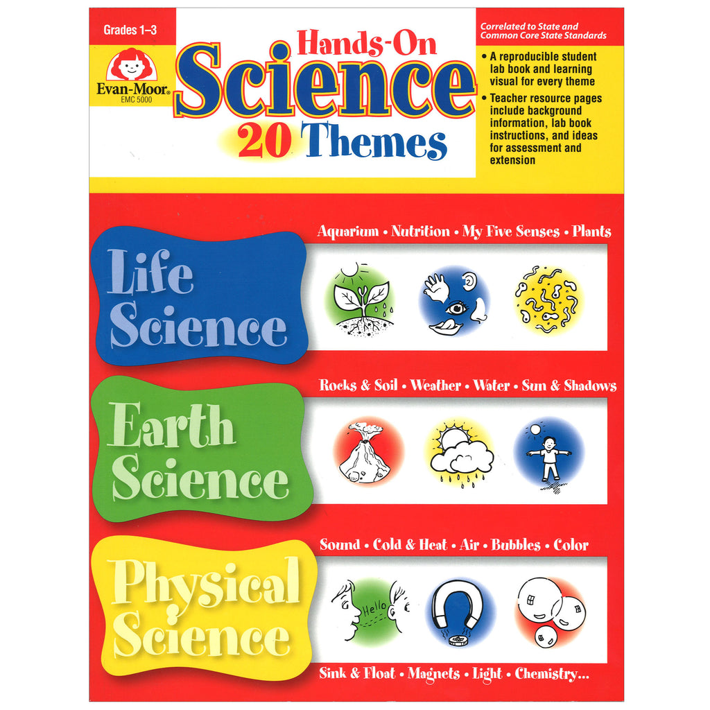 Evan-Moor Hands-On Science Themes