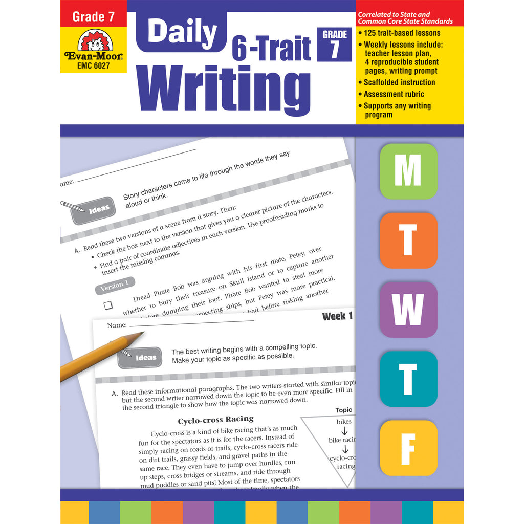 Evan-Moor Daily 6-Trait Writing, Grade 7