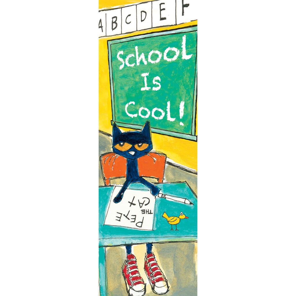 Teacher Created Resources Pete the Cat® School is Cool Bookmark