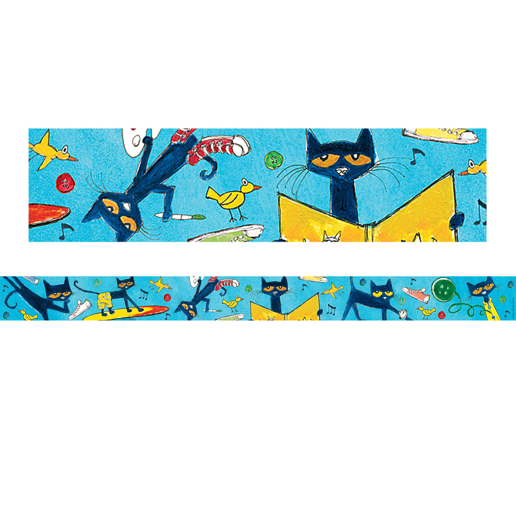 Teacher Created Resources Pete the Cat® Spotlight Bulletin Board Border