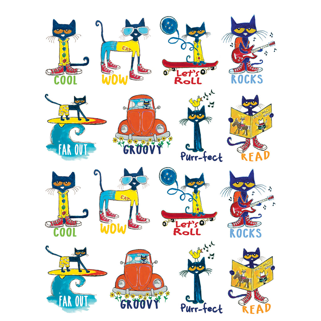 Teacher Created Resources Pete the Cat® Stickers