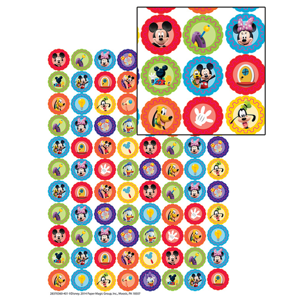 Eureka Mickey Mouse Clubhouse® Gears Mini Stickers