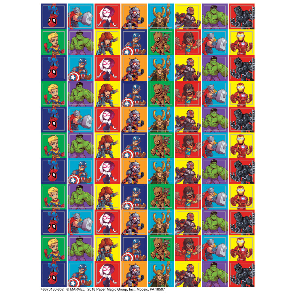 Eureka Marvel™ Super Hero Adventure Mini Stickers