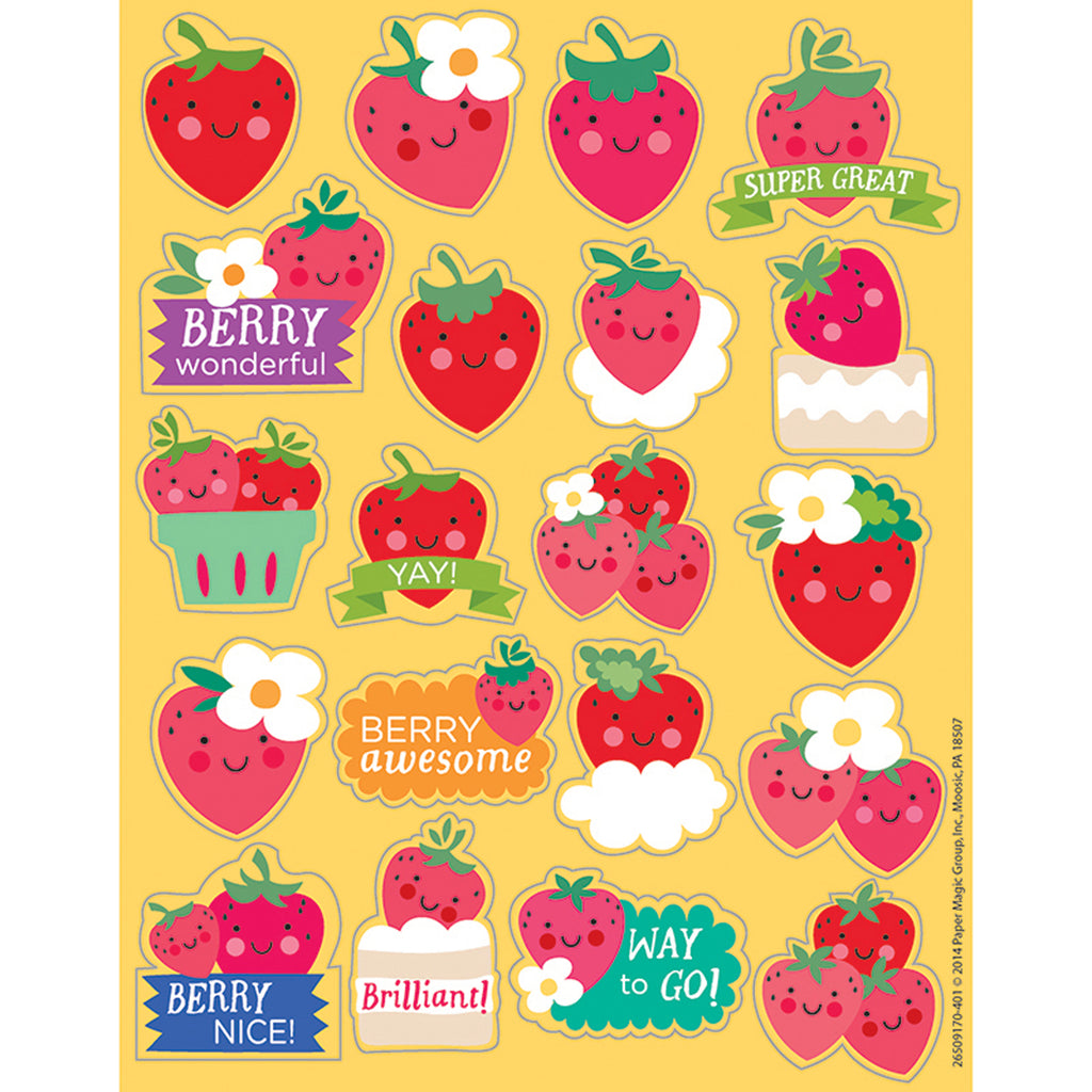 Eureka Strawberry Scented Stickers