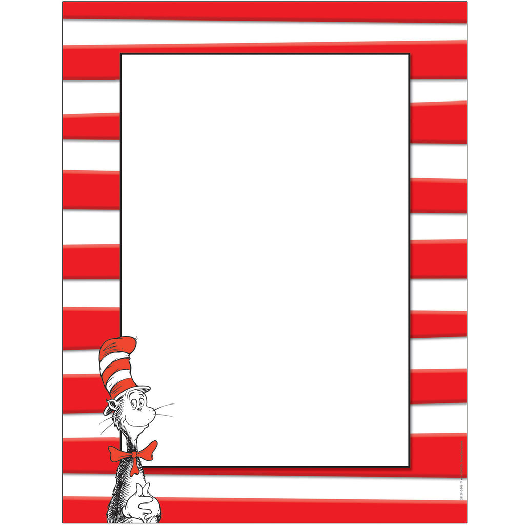 Eureka Dr. Seuss™ Cat in the Hat™ Computer Paper