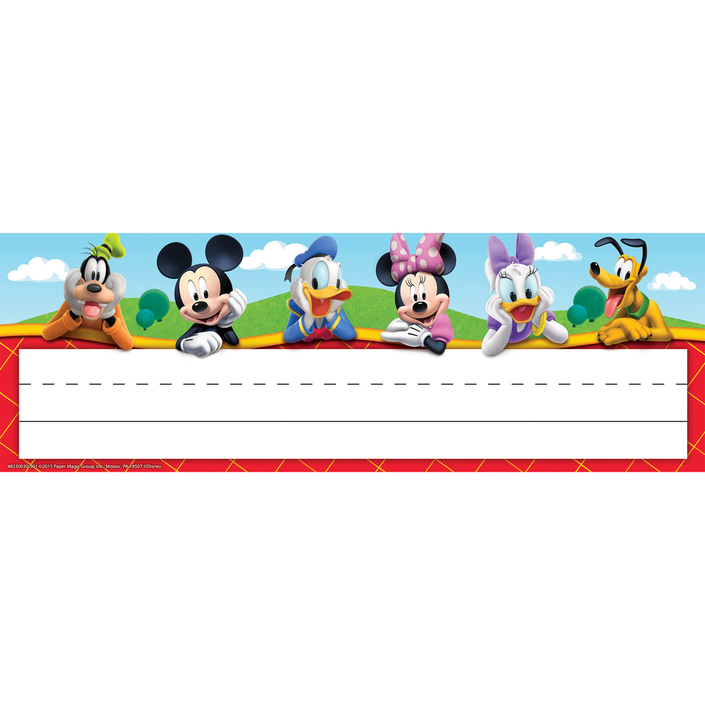 Eureka Mickey Mouse Clubhouse® Self-Adhesive Name Plates