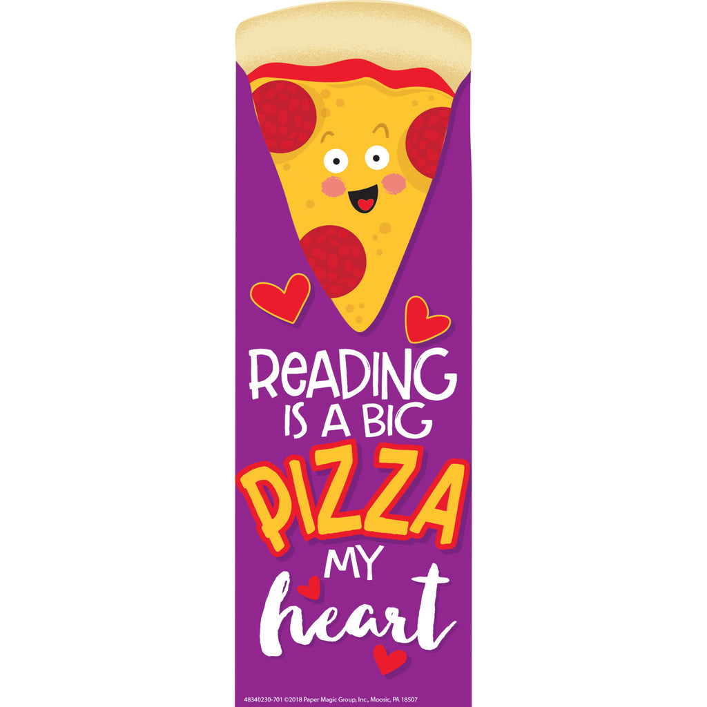 Eureka Pizza Scented Bookmarks