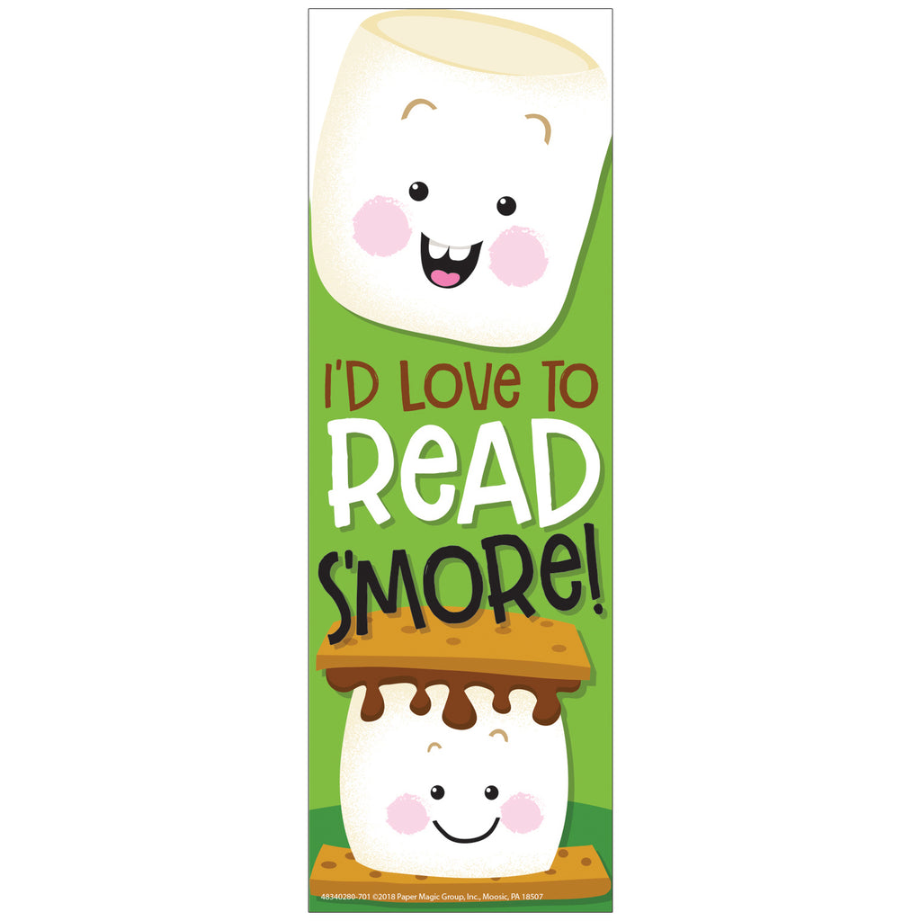 Eureka Marshmallow Scented Bookmarks