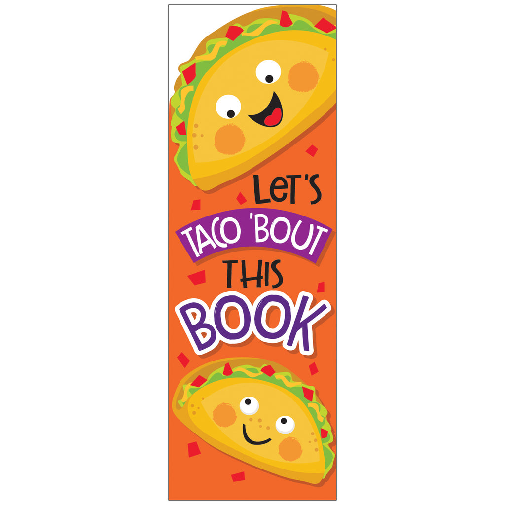 Eureka Taco Scented Bookmarks