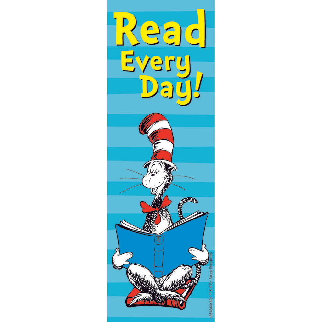 Eureka Cat in the Hat™ Read Every Day Bookmarks