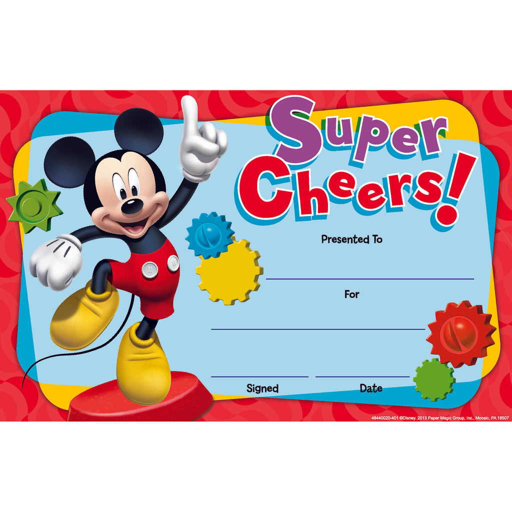 Eureka Mickey Mouse Clubhouse® Super Cheers Recognition Awards