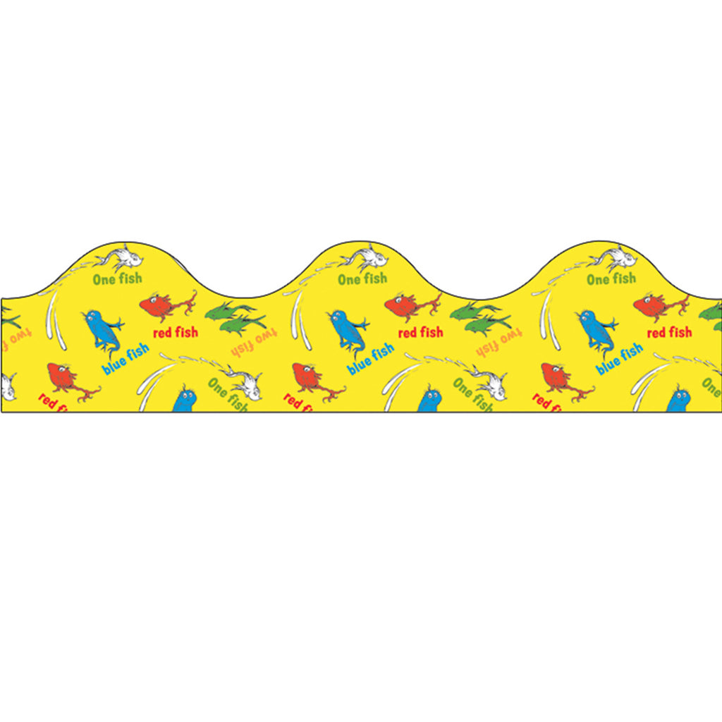 Eureka Dr. Seuss™ One Fish Two Fish Bulletin Board Border