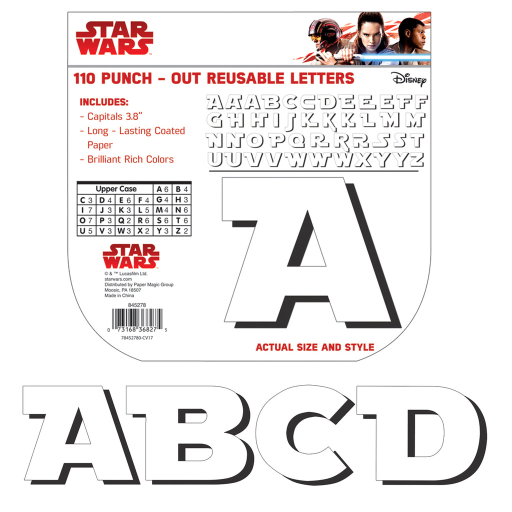 Eureka Star Wars™ Super Troopers Deco Letters