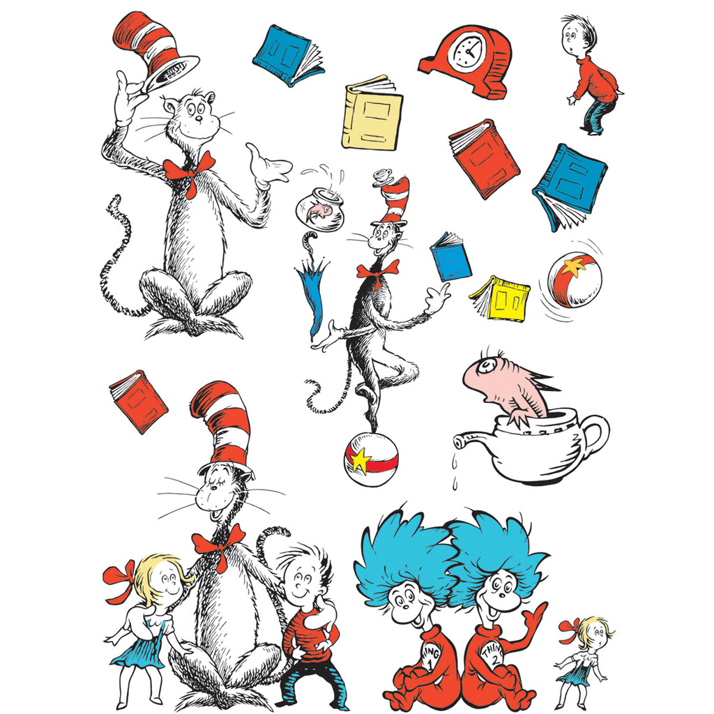 Eureka Bulletin Board Set Cat in the Hat™ Large Characters