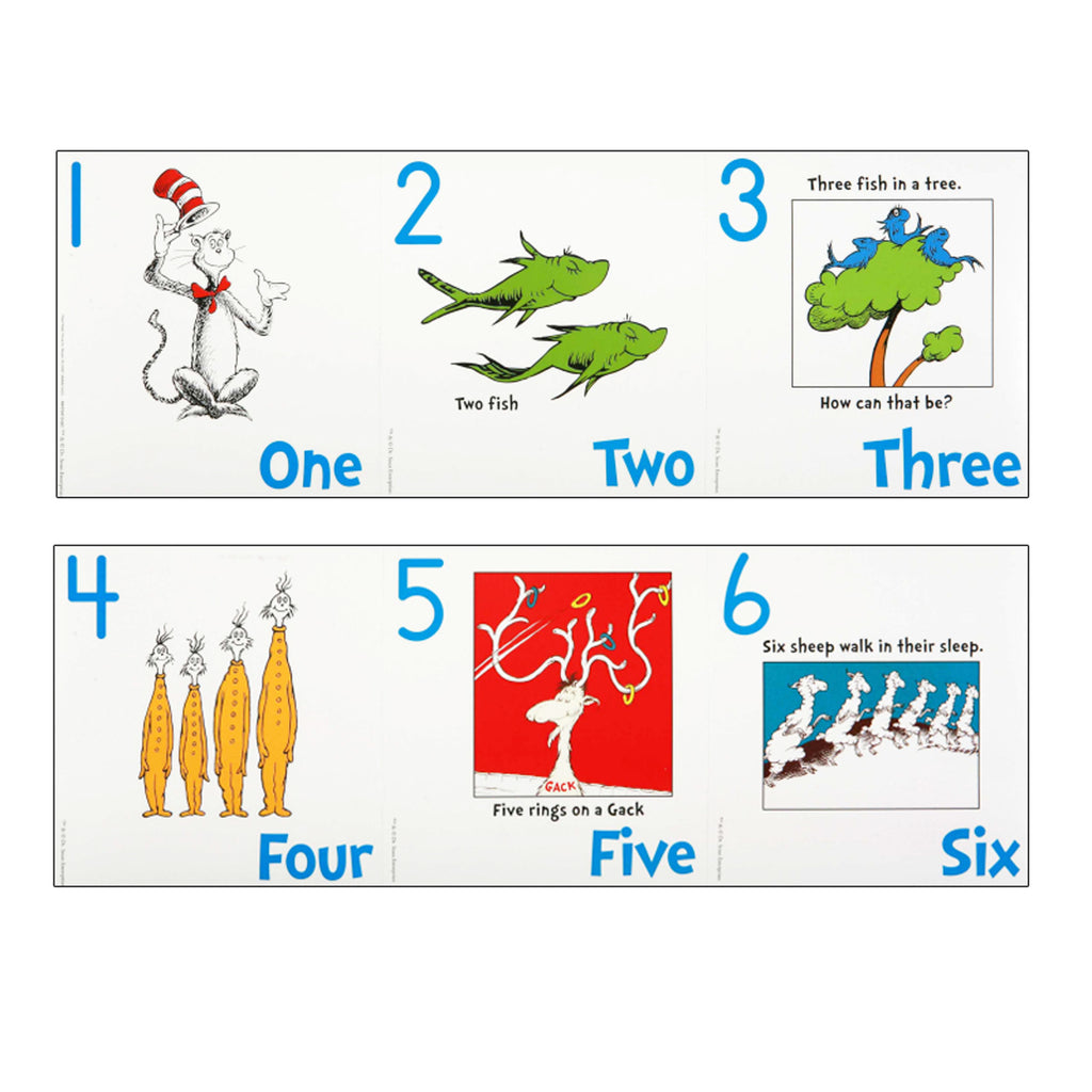 Eureka Dr. Seuss™ Numbers 1-20 Bulletin Board Set