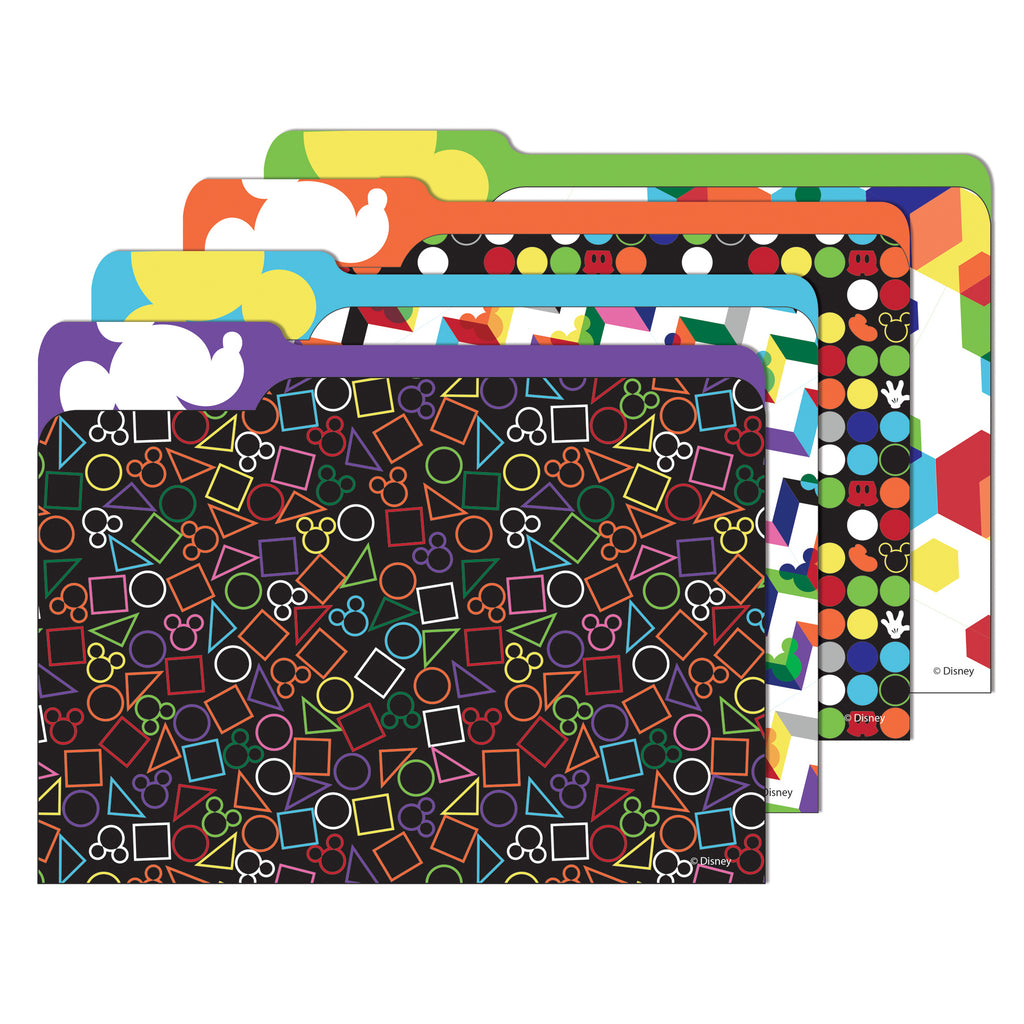 Eureka Geo Mickey® File Folders