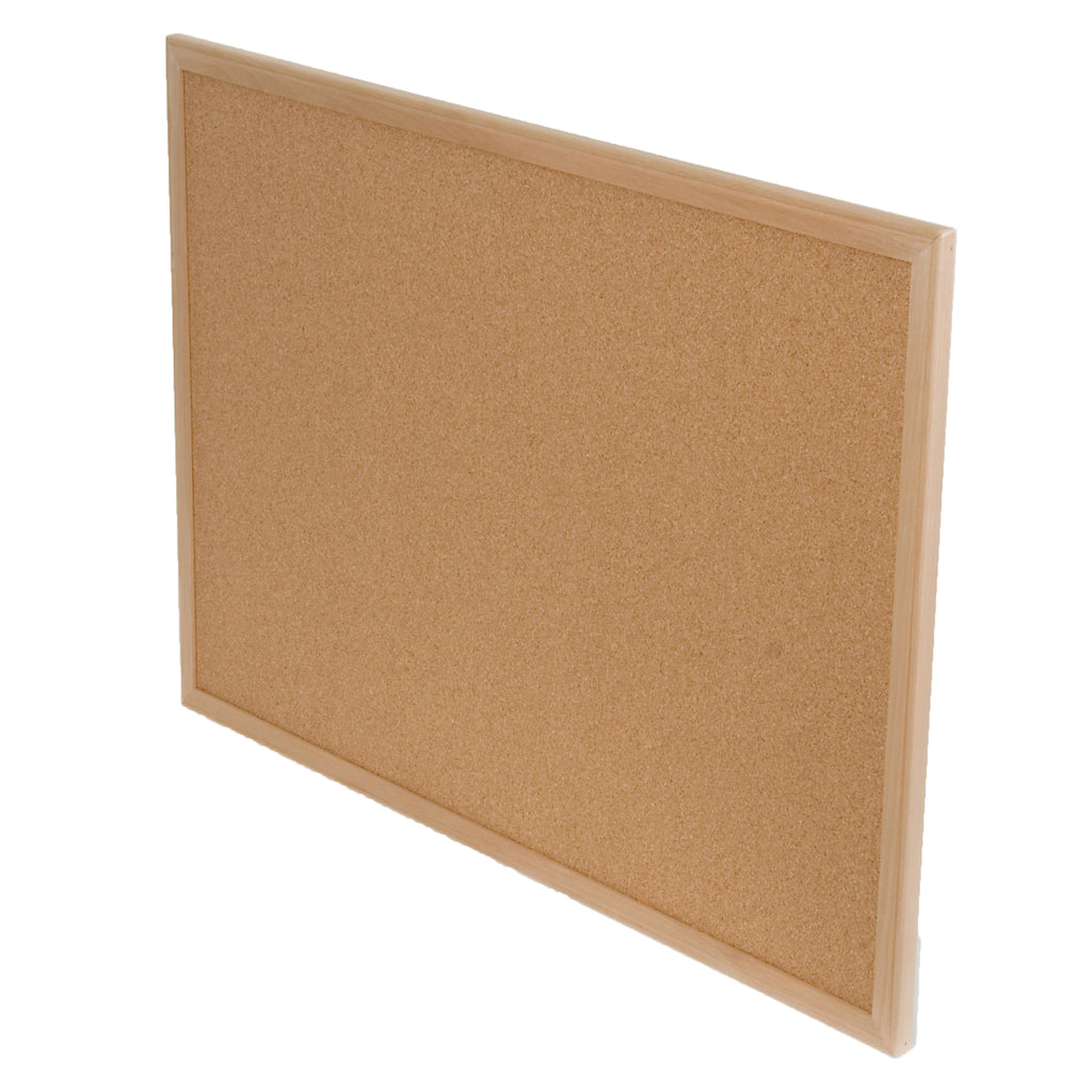 "Flipside Wood Framed Cork Board, 24"" x 36"""