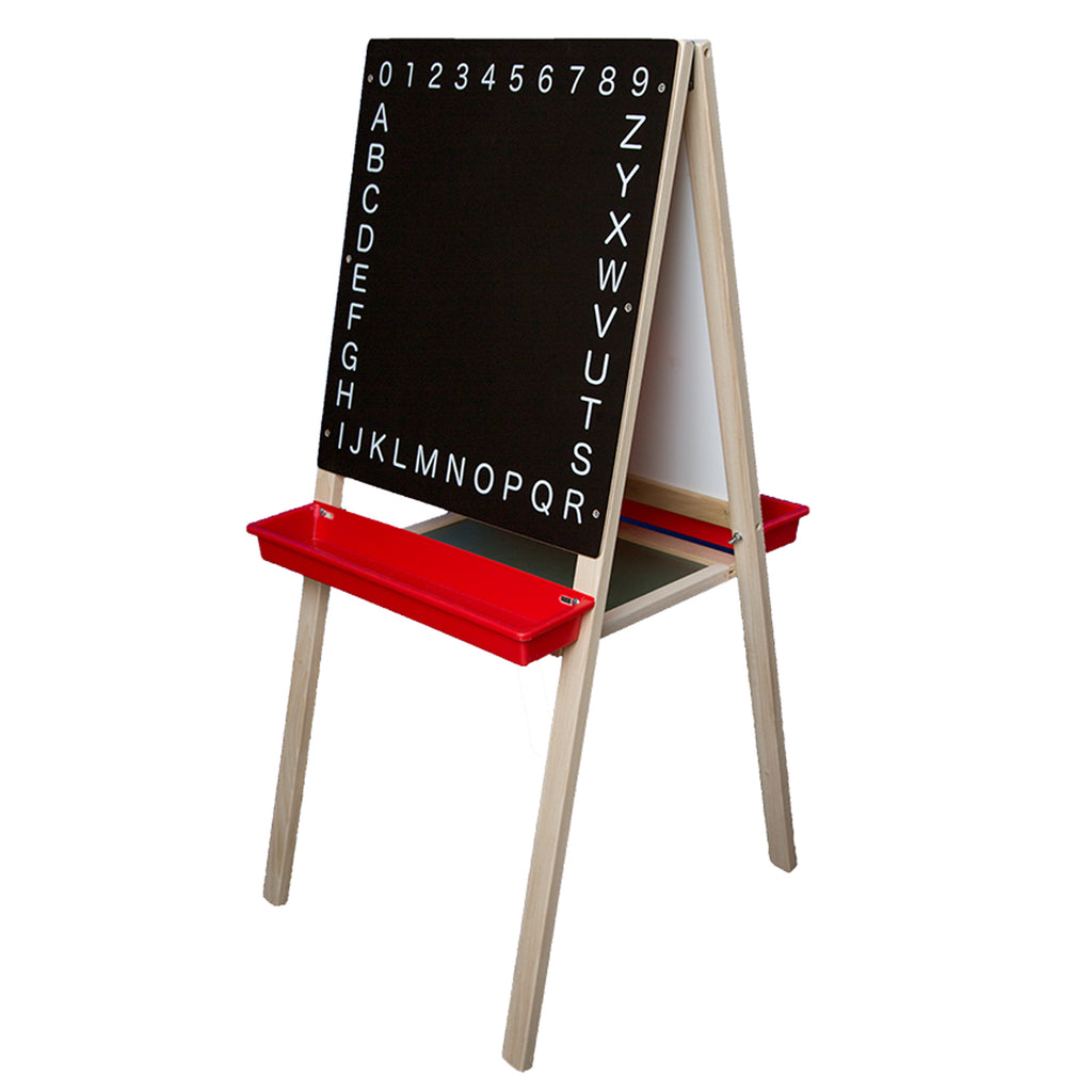 "Flipside Child's Magnetic Easel, 44""H x 19""W"