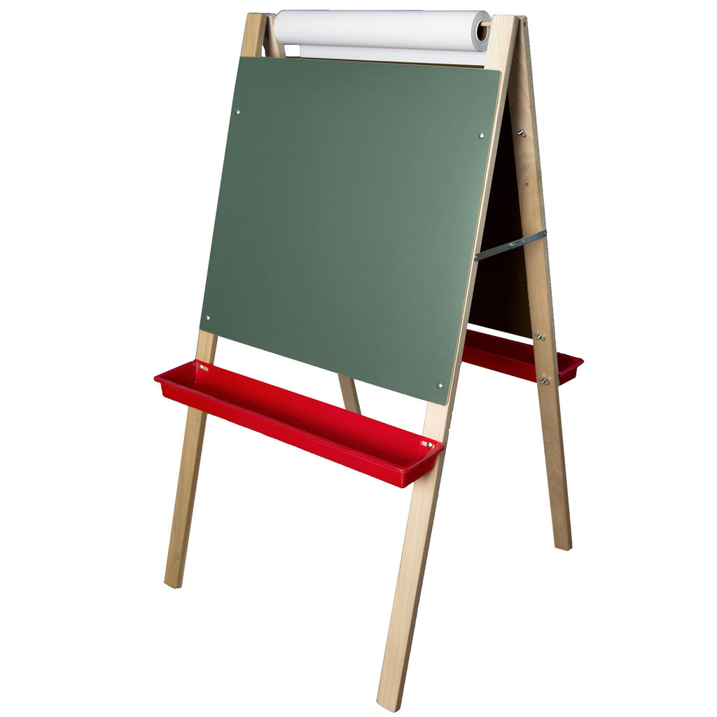 "Flipside Adjustable Paper Roll Easel, 48""H x 24""W"