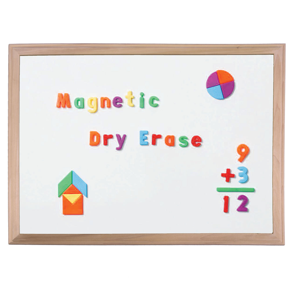 "Flipside Wood Framed Magnetic Dry Erase Board, 24"" x 36"""