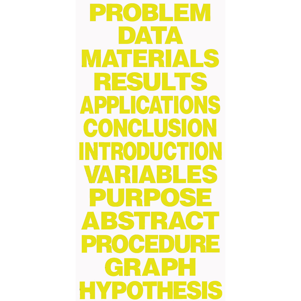 Flipside Project Board Titles Yellow