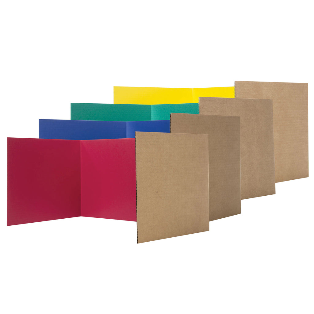Flipside Privacy Shield, Assorted Colors, 24 Pack