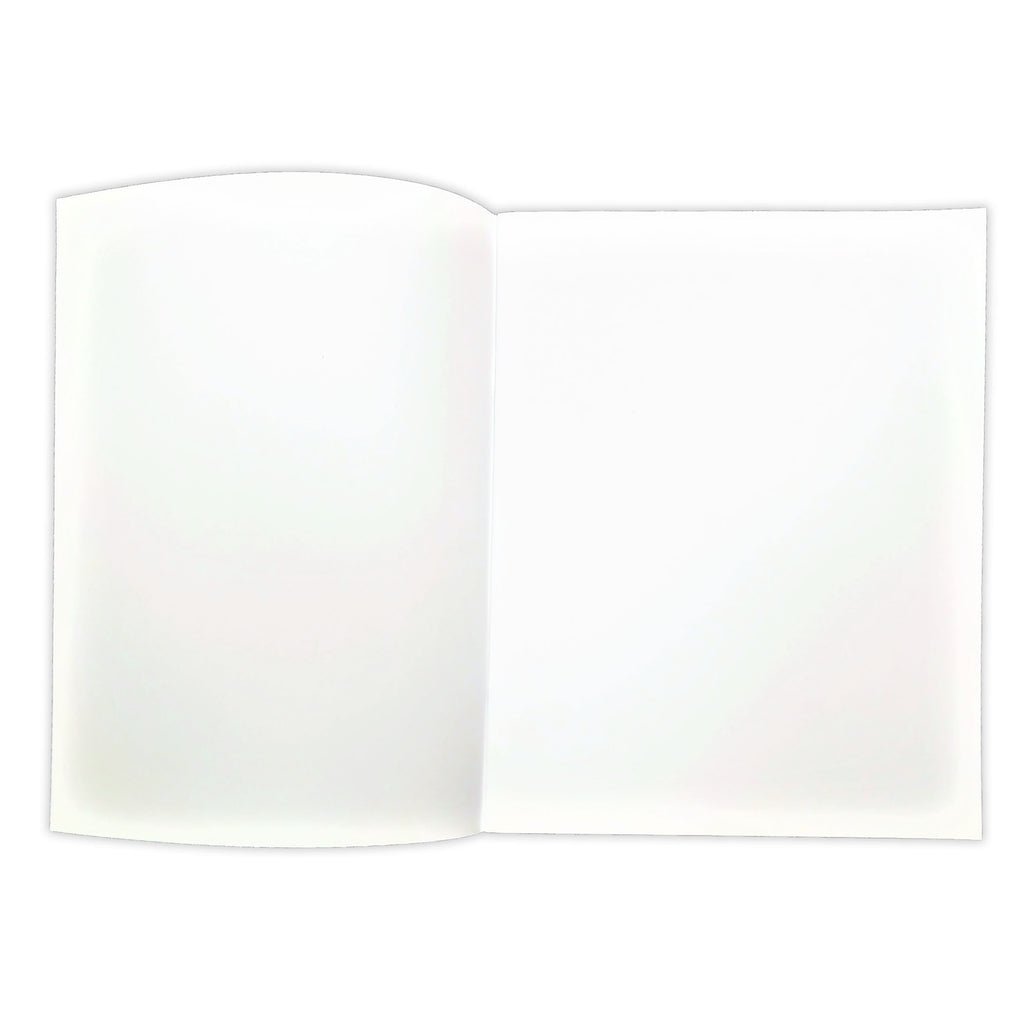 "Flipside Soft Cover Blank Book, 7"" x 8.5"" Portrait, 8 Pages (12 Pack)"