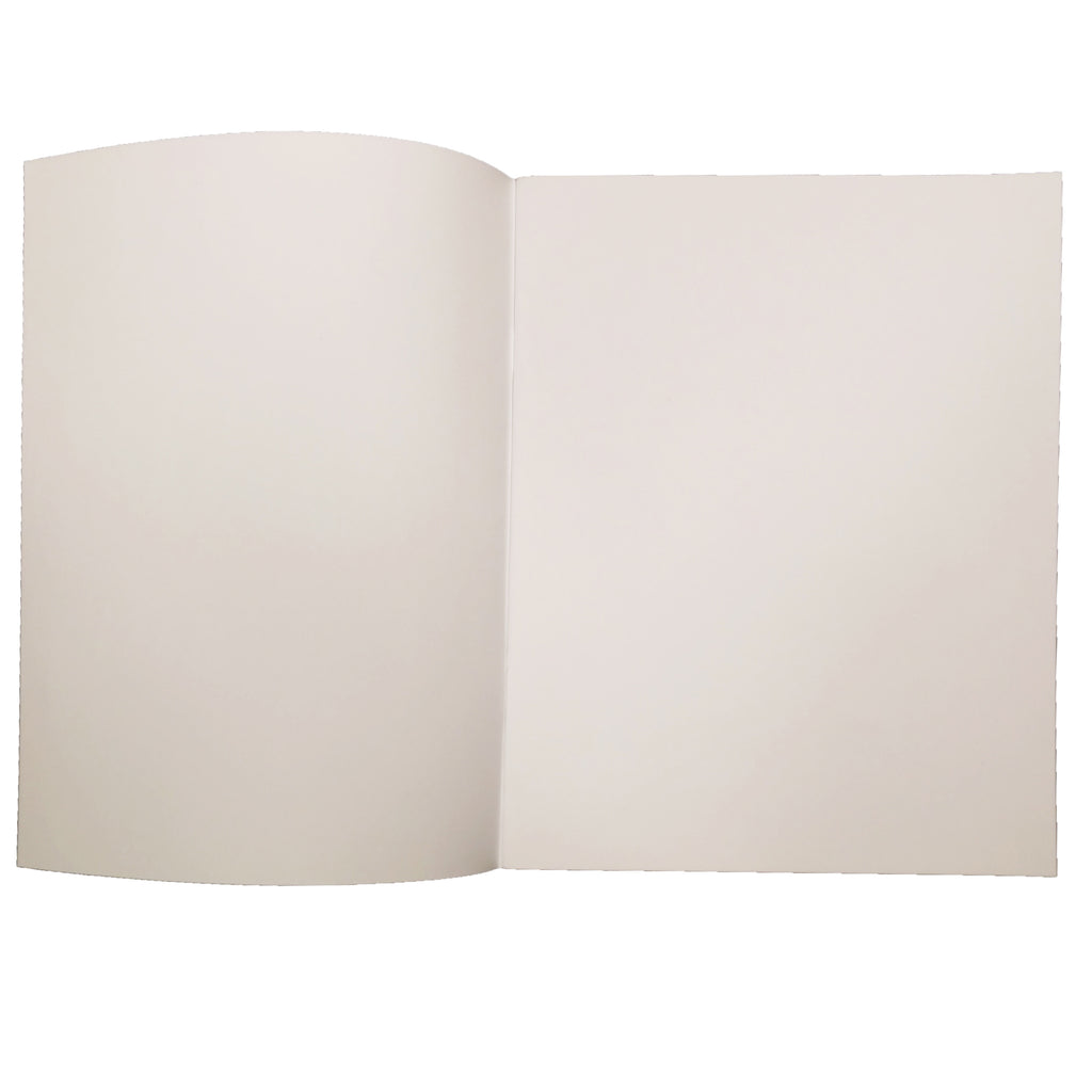 "Flipside Soft Cover Blank Book, 8.5"" x 11"" Portrait (12 Pack)"