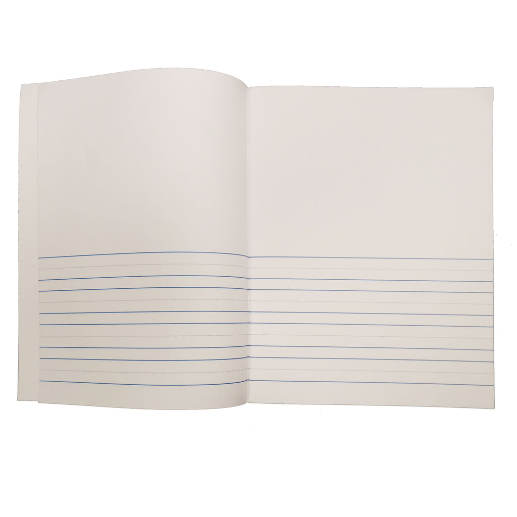 "Flipside Soft Cover Lined Book, 8.5"" x 11"" Portrait, 8 Pages (12 Pack)"