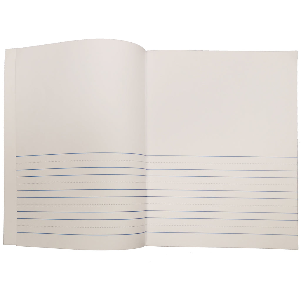 "Flipside Soft Cover Lined Book, 8.5"" x 11"" Portrait (24 Pack)"