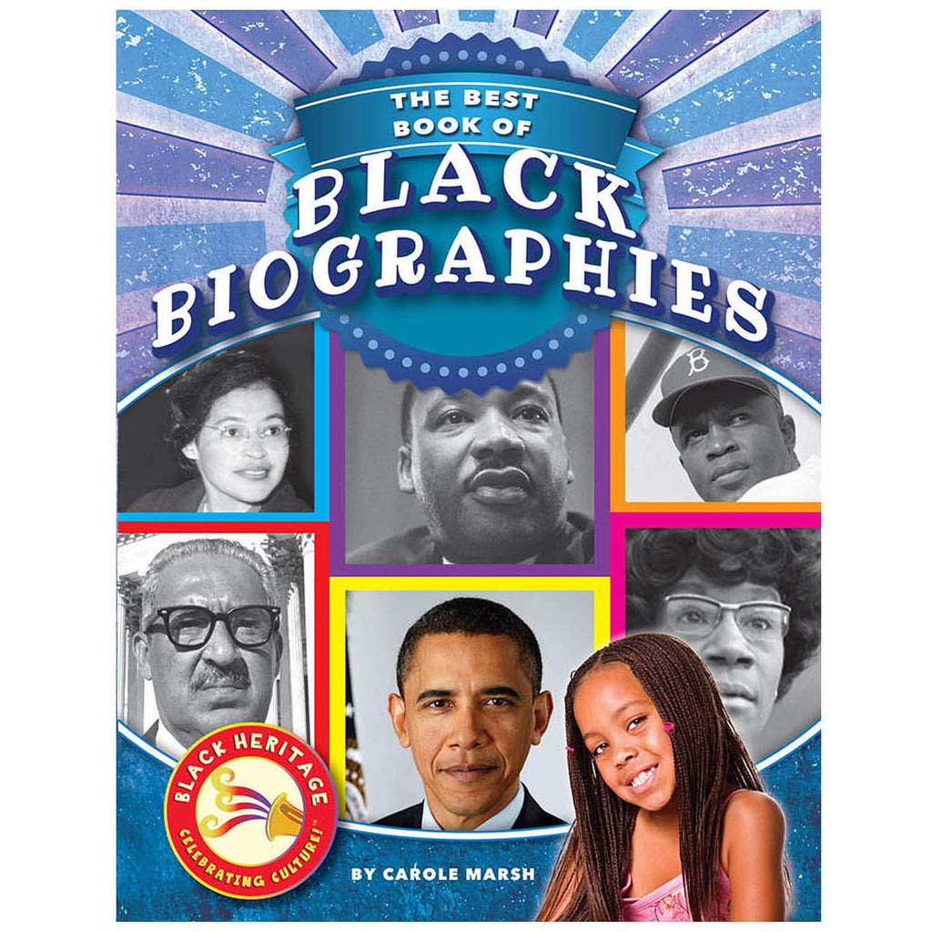 Gallopade The Best Book of Black Biographies