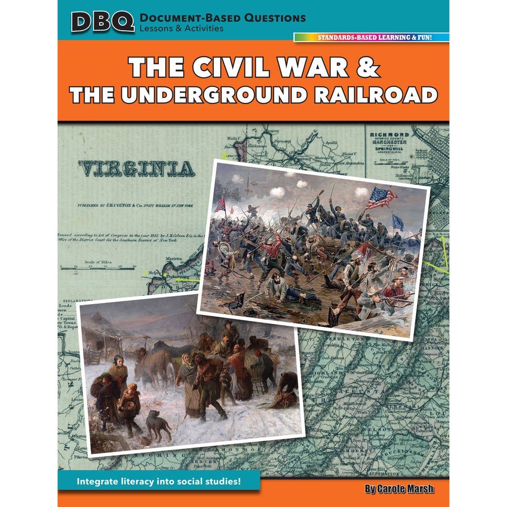 Gallopade Document Based Questions: The Civil War & The Underground Railroad