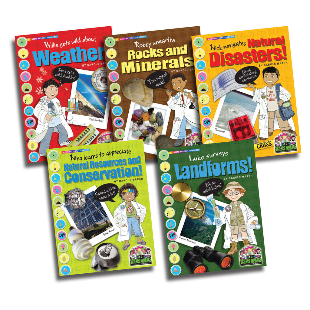 Gallopade Science Alliance: Earth Science, Set of All 5