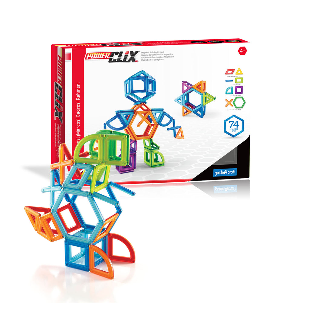 Guidecraft PowerClix® Creativity Set: 74 Pieces