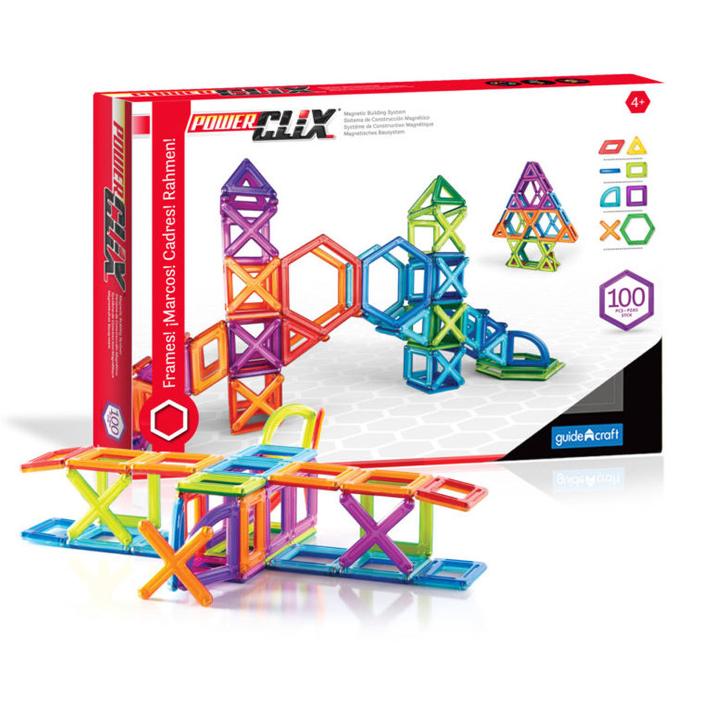 Guidecraft PowerClix® Creativity Set: 100 Pieces