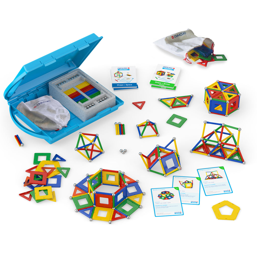 Geomagworld GEOMAG™ Education Kit: Shape & Space Panels