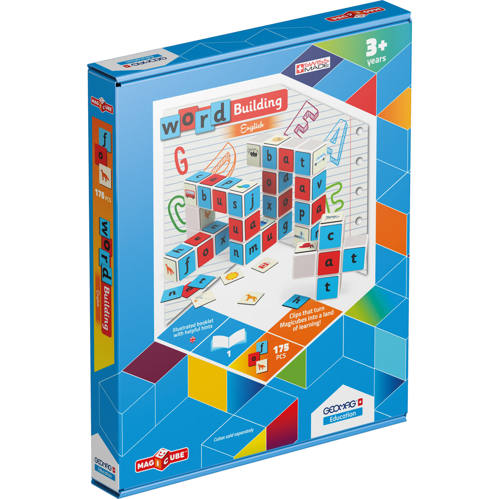 Geomagworld GEOMAG™ Education: MAGICUBE™ Word Building