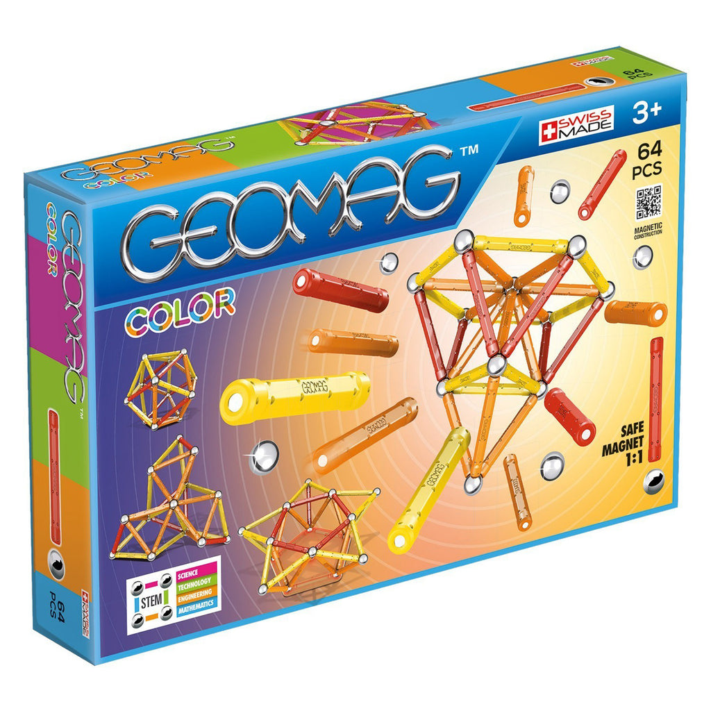 Geomagworld GEOMAG™ Color, 64 Pieces