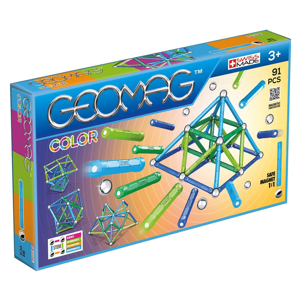 Geomagworld GEOMAG™ Color, 91 Pieces