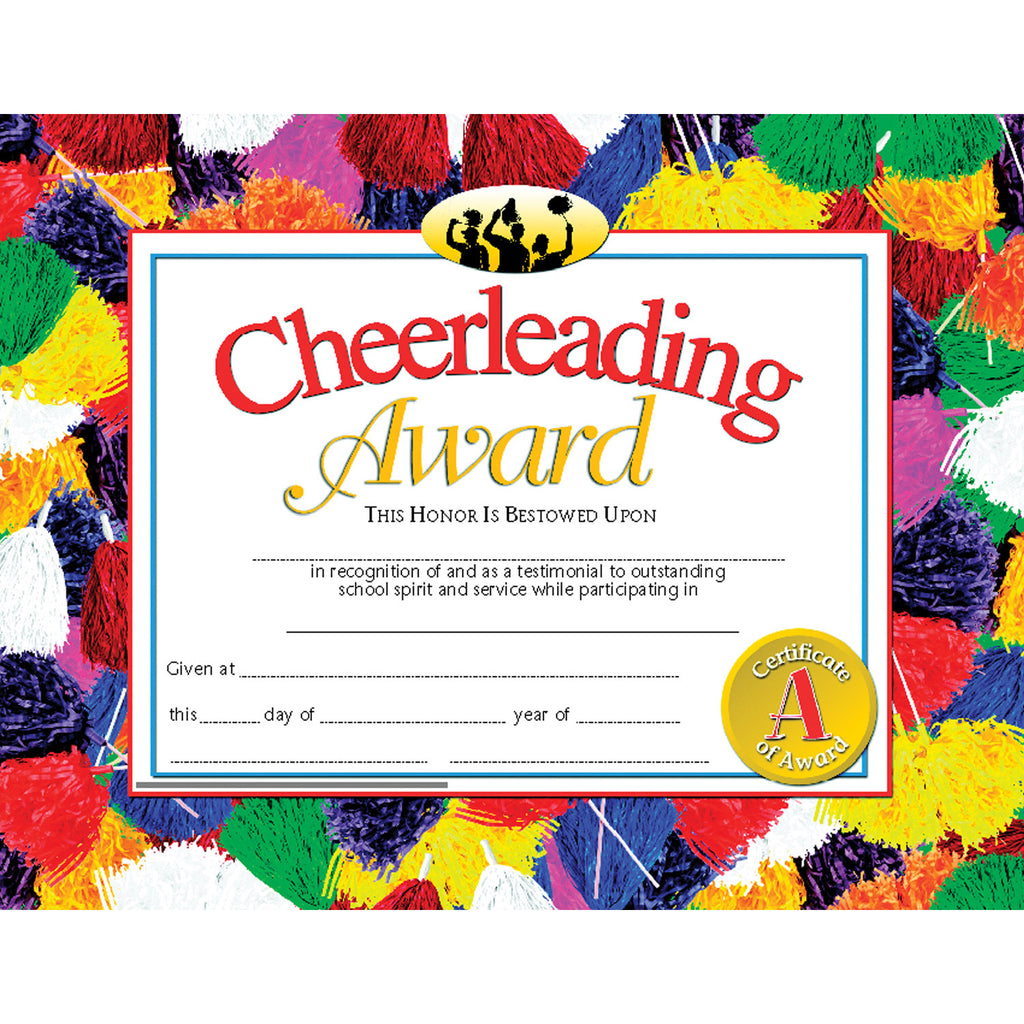 Hayes School Publishing Cheerleading Award