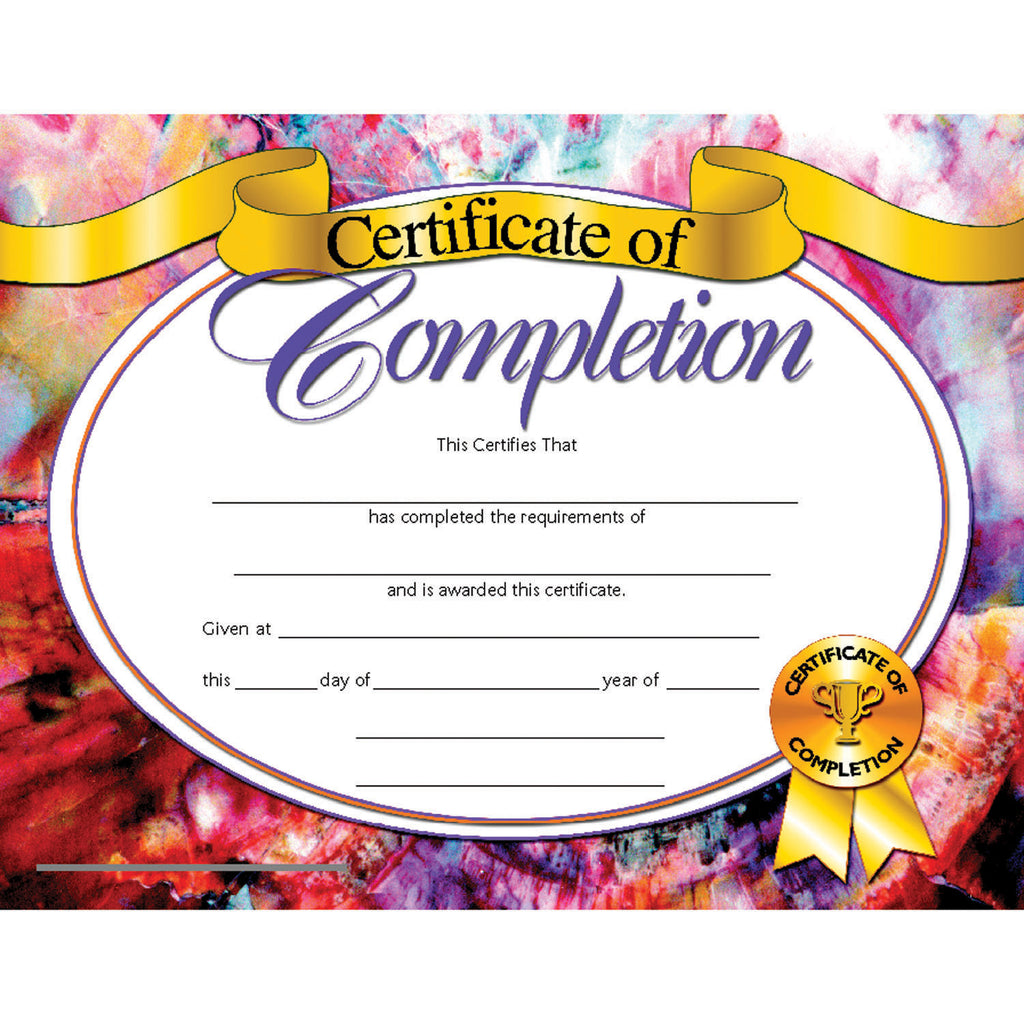 Hayes School Publishing Certificate of Completion 1