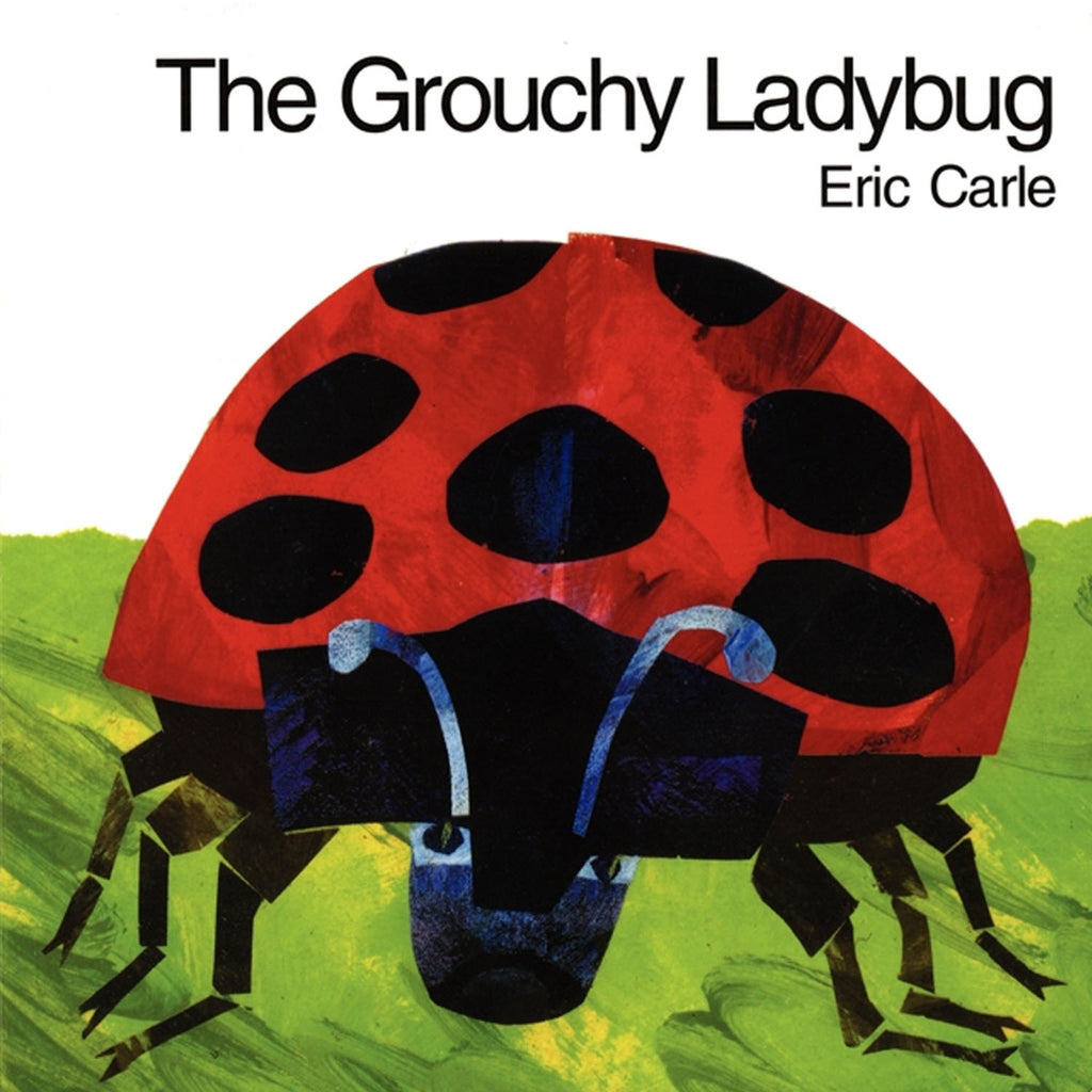 Harper Collins Publishers The Grouchy Ladybug Board Book By Eric Carle