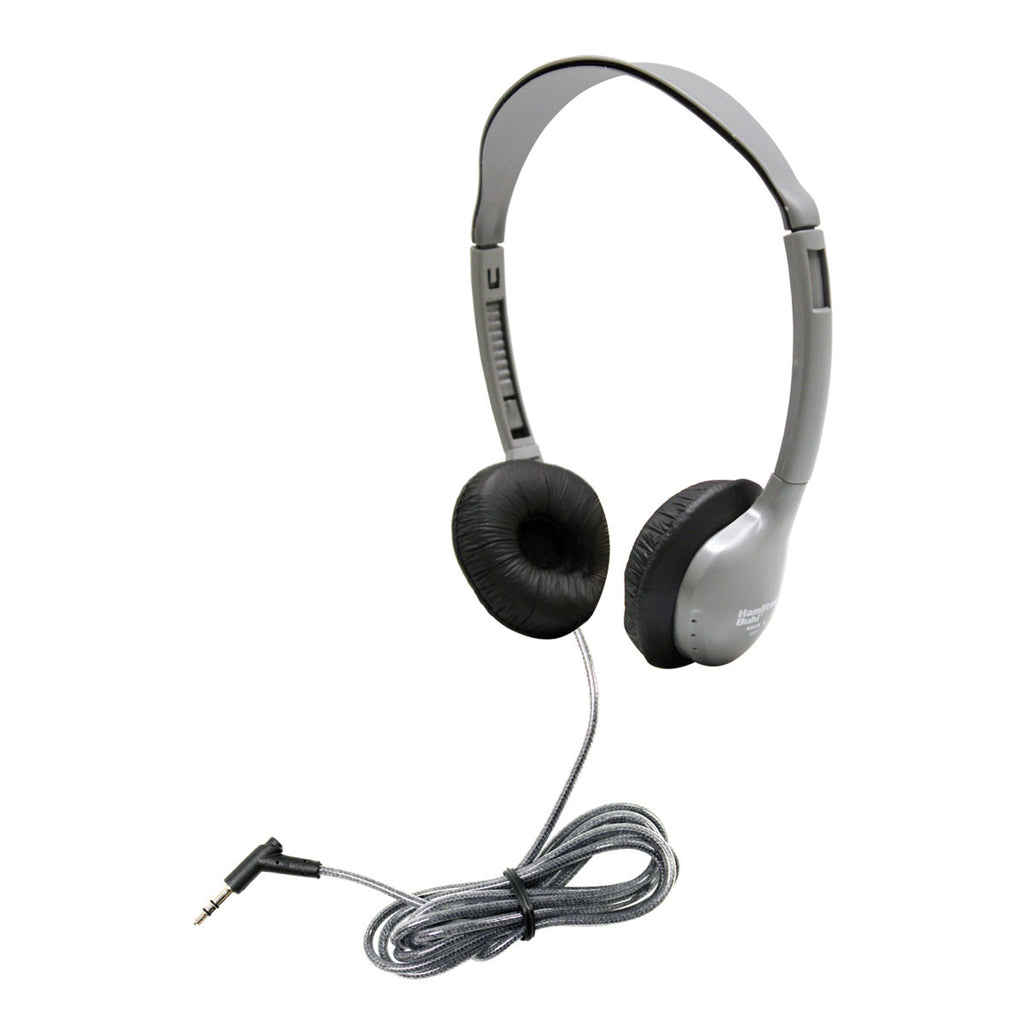 Hamilton Buhl Personal Stereo Mono Headphones Leatherette Ear Cush Without Volume Control