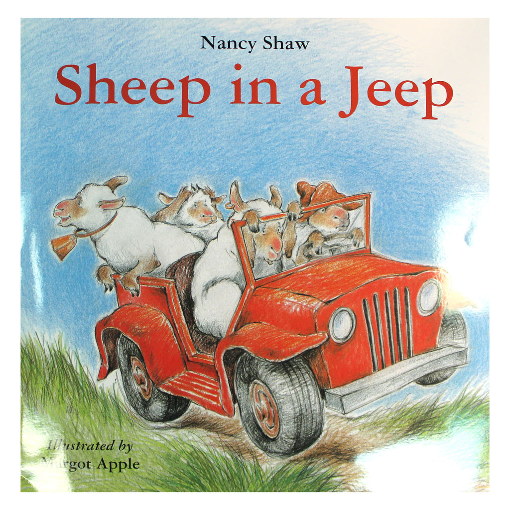 Houghton Mifflin Harcourt Sheep In A Jeep Big Book