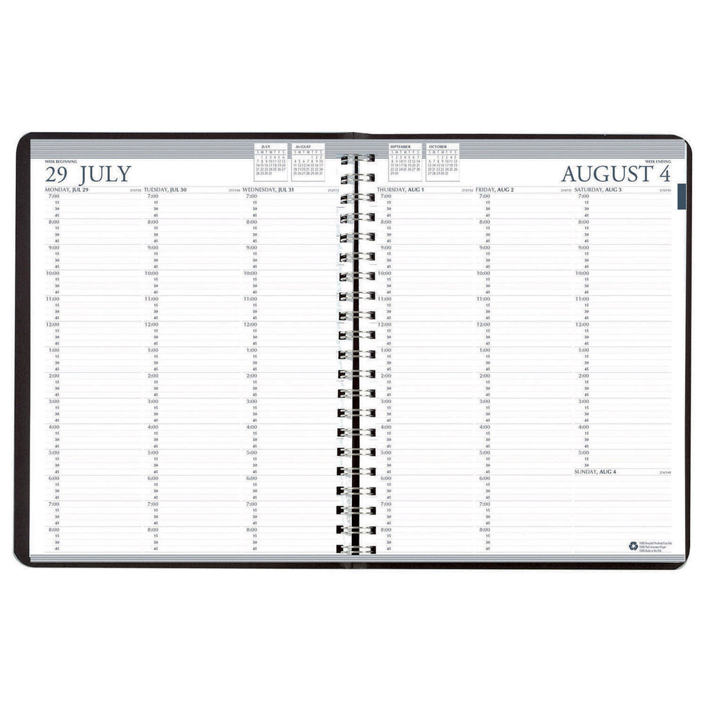 House Of Doolittle Academic Professional Weekly Planner 12 Months Aug-July